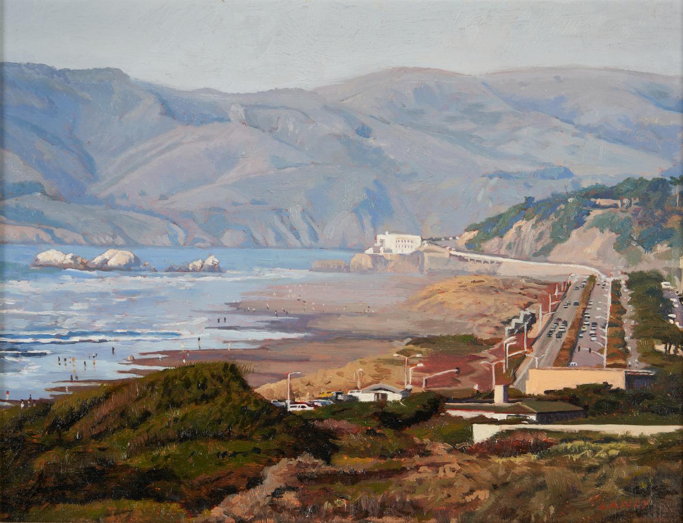 Lot 507: Greg Gandy O/B,  Ocean Beach