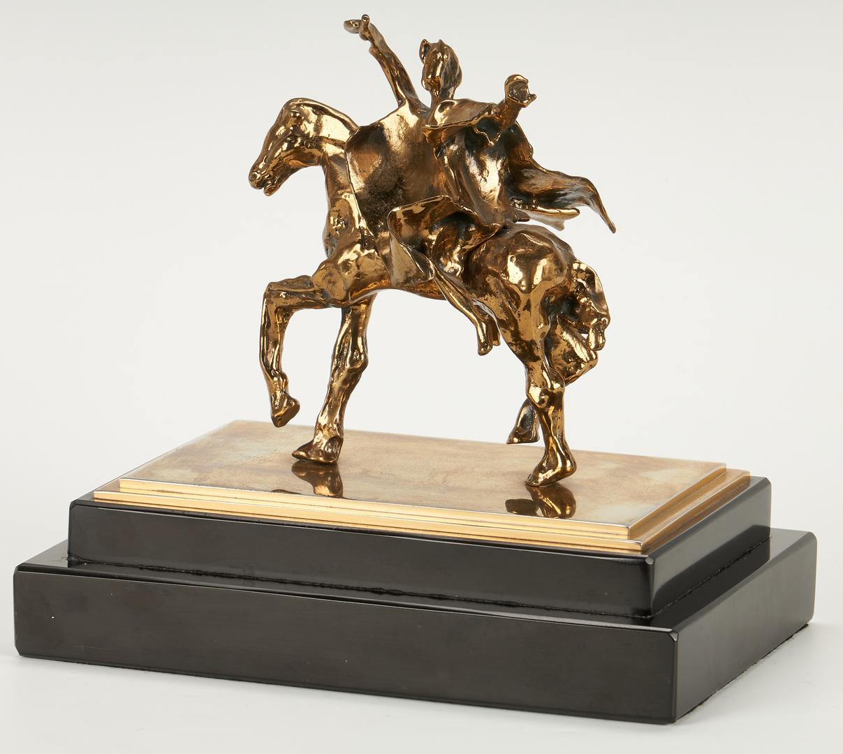 Lot 512: Salvador Dali Bronze Sculpture, Tragan