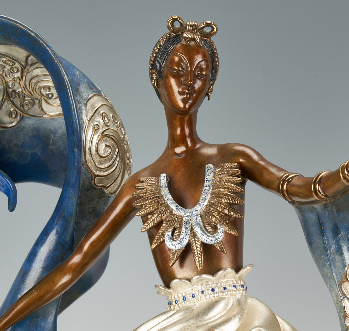 Lot 513: Erte Bronze, Dream Girl