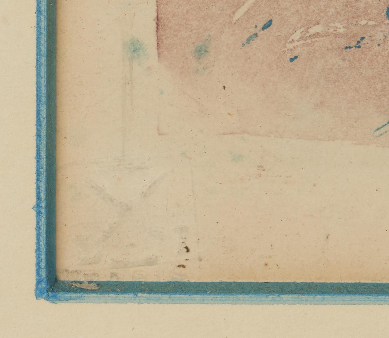 Lot 516: 2 Louis Icart Signed Original Etchings