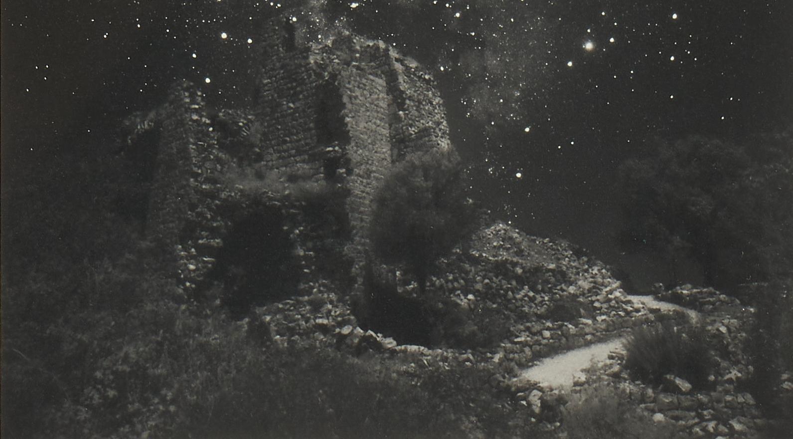 Lot 522: Neil Folberg Photograph, Scorpius Milky Way Rising, plus G. Colbert Book