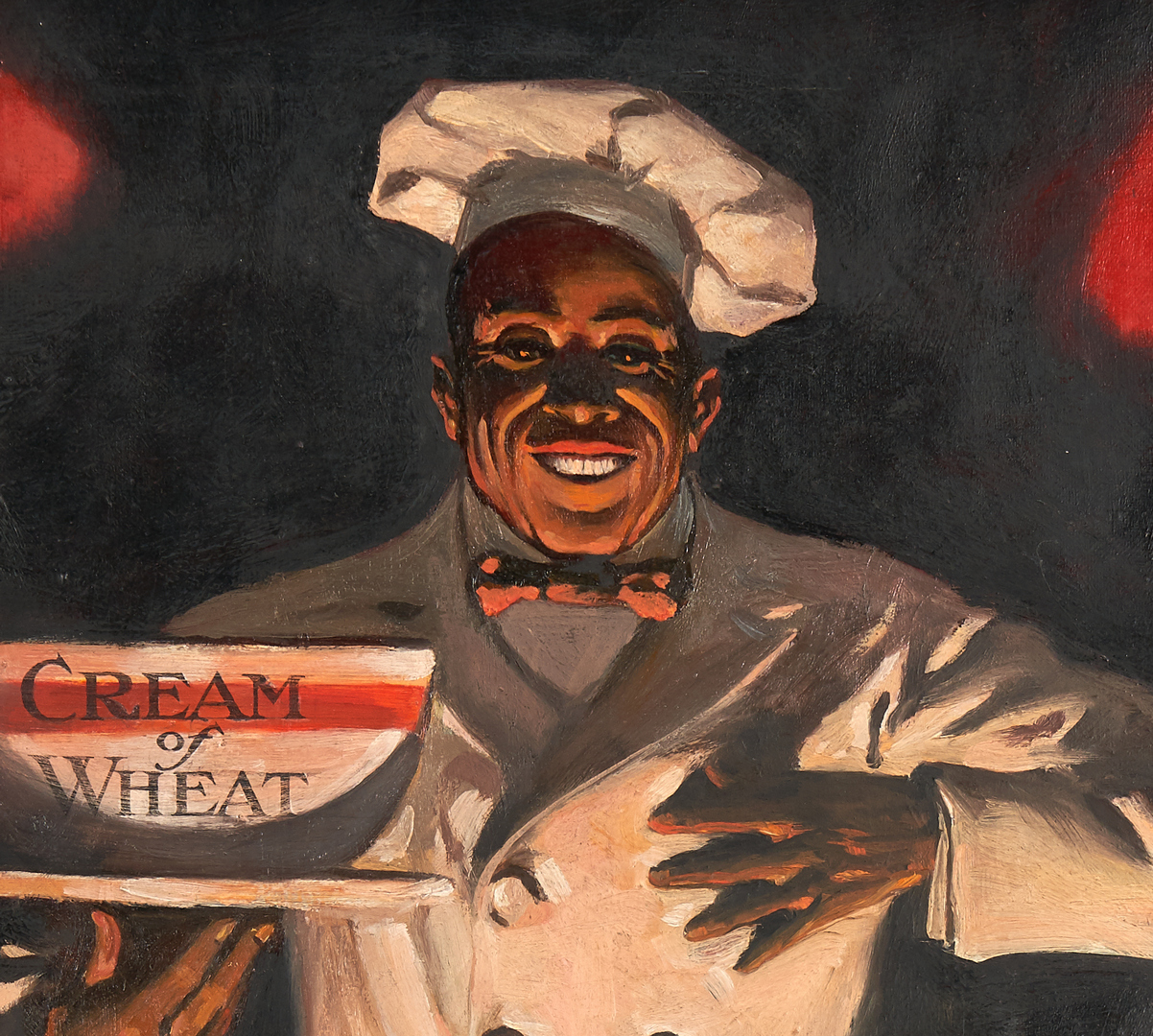Lot 527: Walter Whitehead O/C Illustration, Cream of Wheat