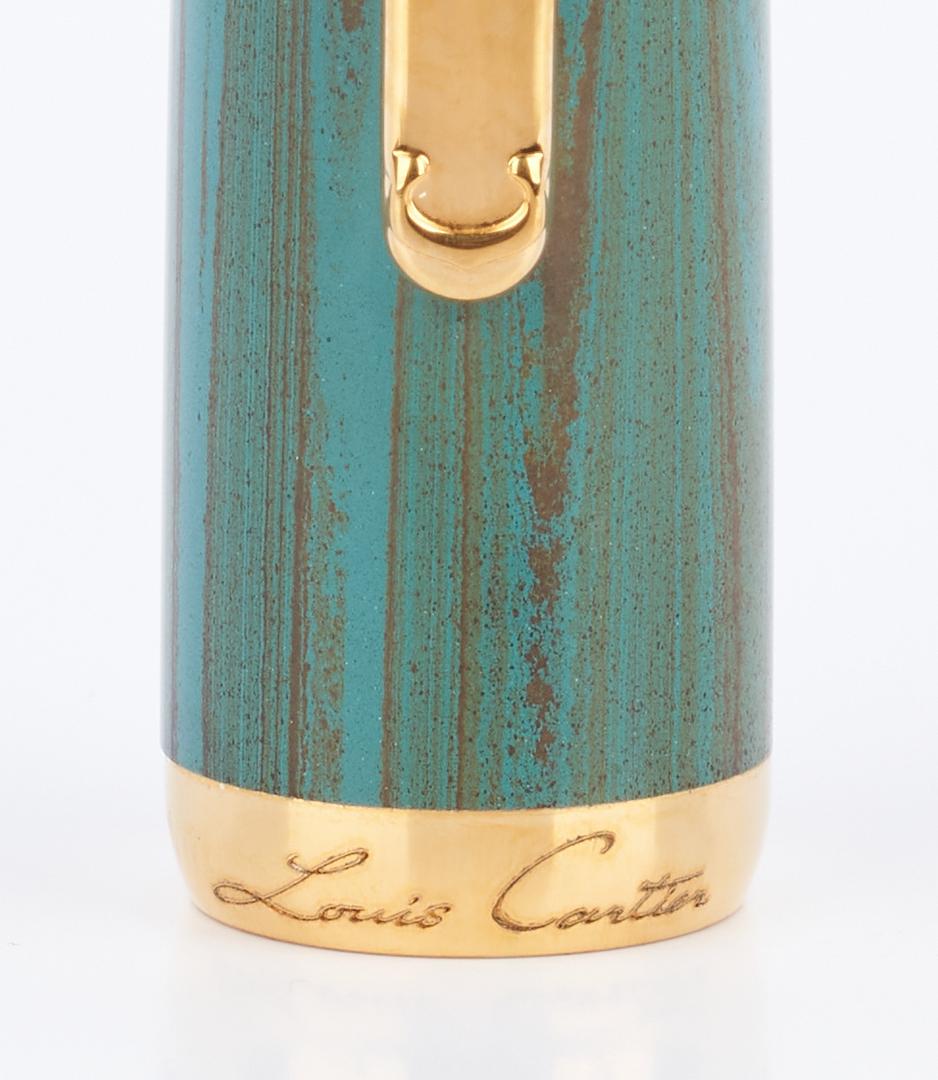 Lot 52: 2 Ltd. Ed. Cartier Fountain Pens