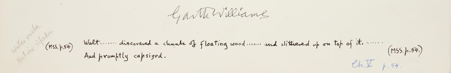 Lot 541: Garth Williams Children's Books Illustration Archive, incl. Cricket in Times Square