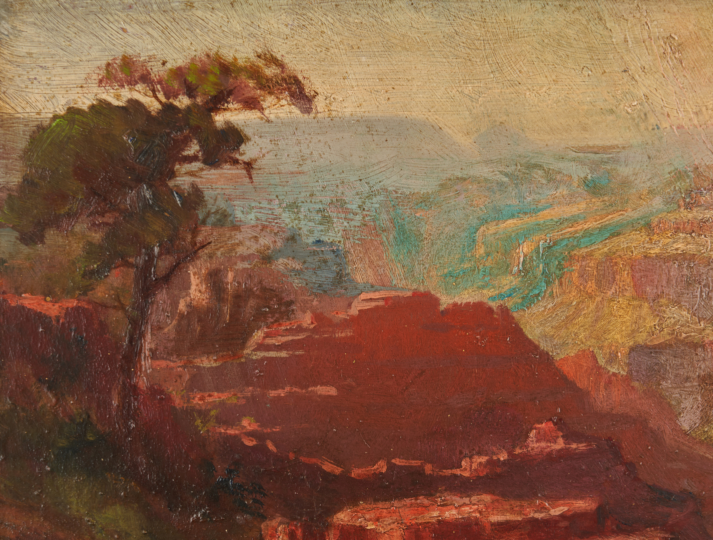 Lot 546: Arthur W. Best O/B Grand Canyon Painting