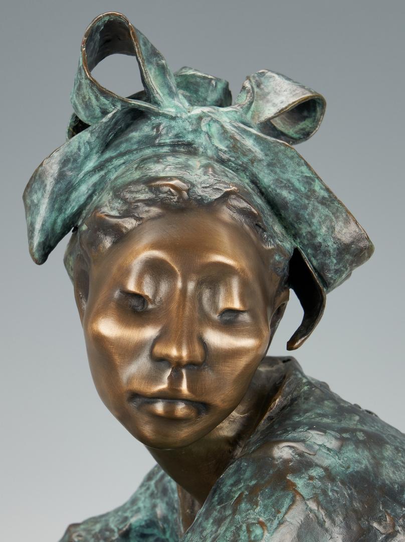 Lot 555: Shirley Thomson Smith Bronze Sculpture