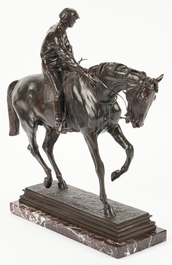 Lot 560: After Isidore Bonheur Bronze, Horse and Rider
