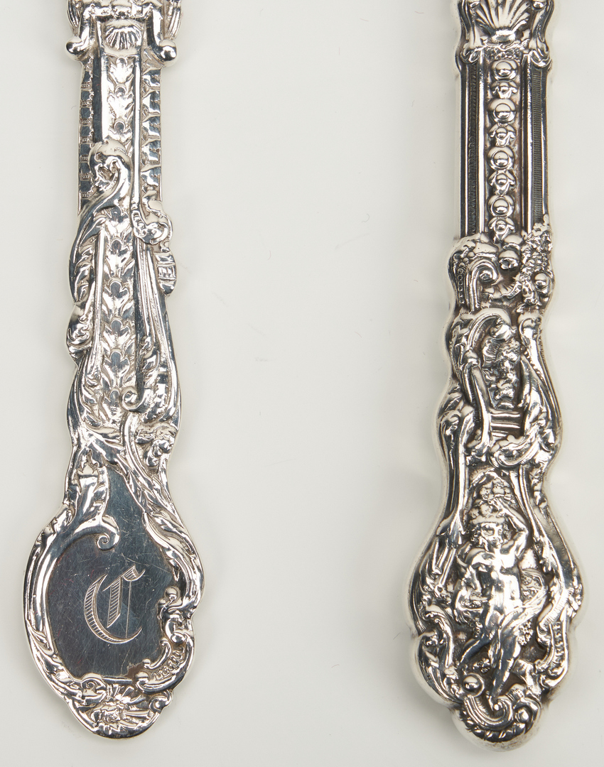 Lot 56: 156 pcs. Gorham Versailles Sterling Flatware