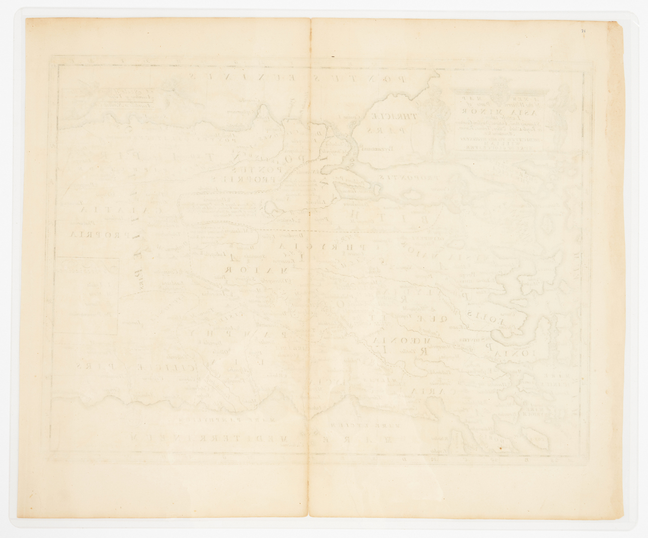 Lot 580: 9 European Maps, Fricx, 18th Century
