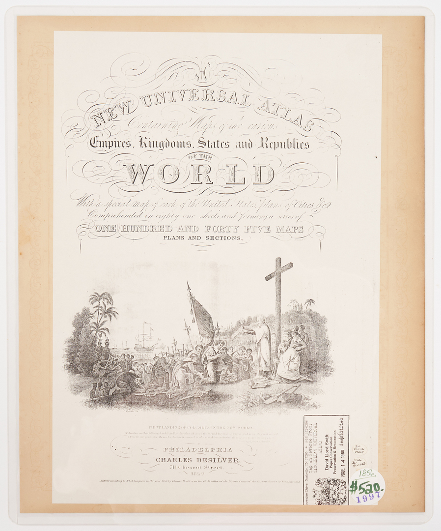 Lot 583: J.H. Young Texas Map, 1856