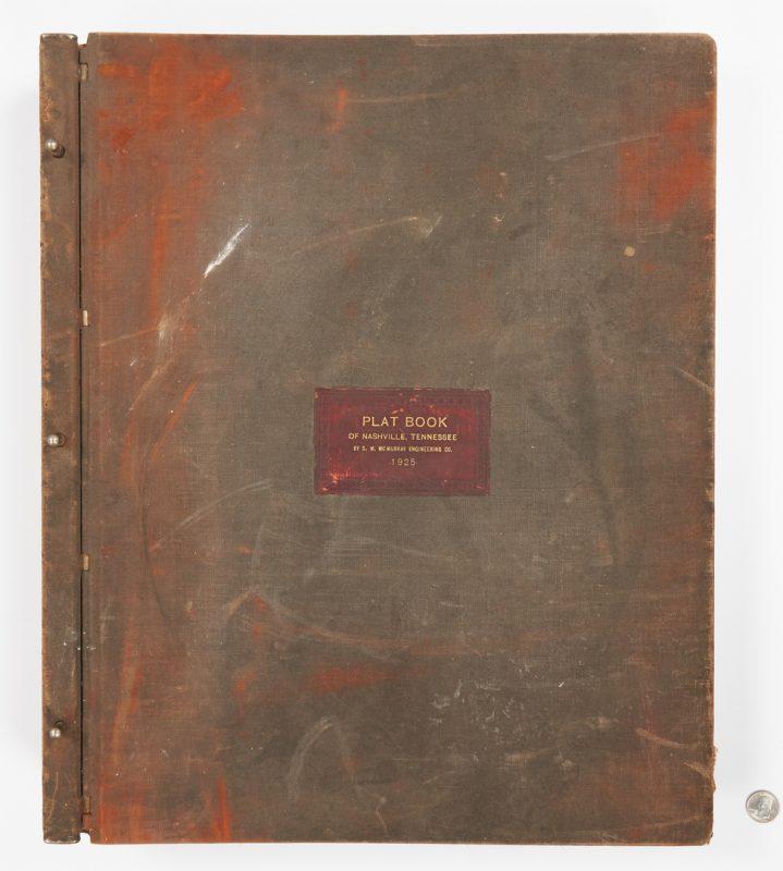 Lot 589: Nashville Plat Map Book, 1928