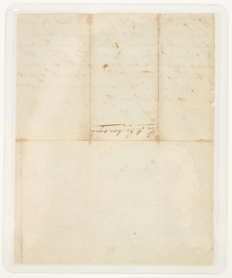 Lot 595: Abram Maury 1799 Bond to build a TN School