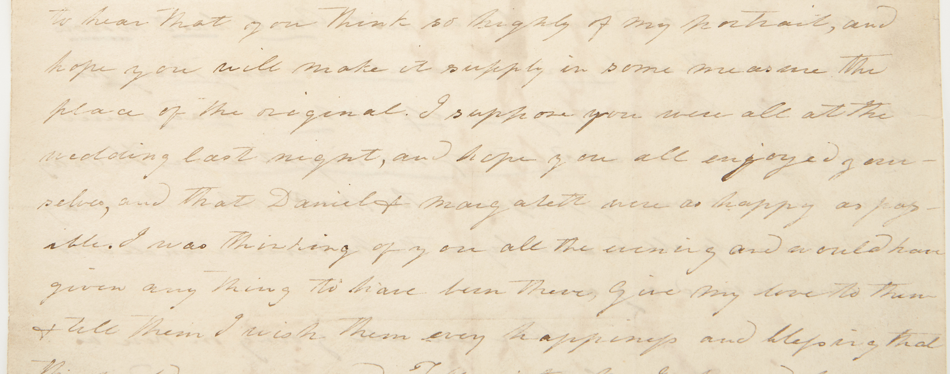 Lot 597: Emily Tennessee Donelson ALS, White House Hostess