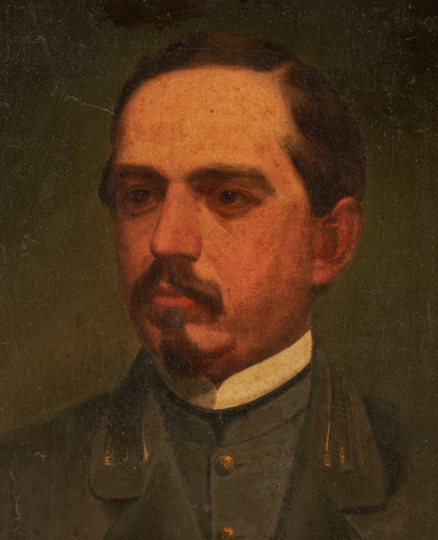 Lot 613: Portrait of CSA Capt. Samuel Wilkins, North Carolina