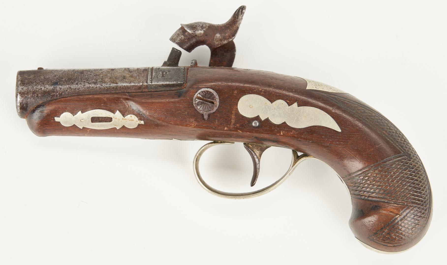 Lot 615: Philadelphia Derringer, .44 cal.