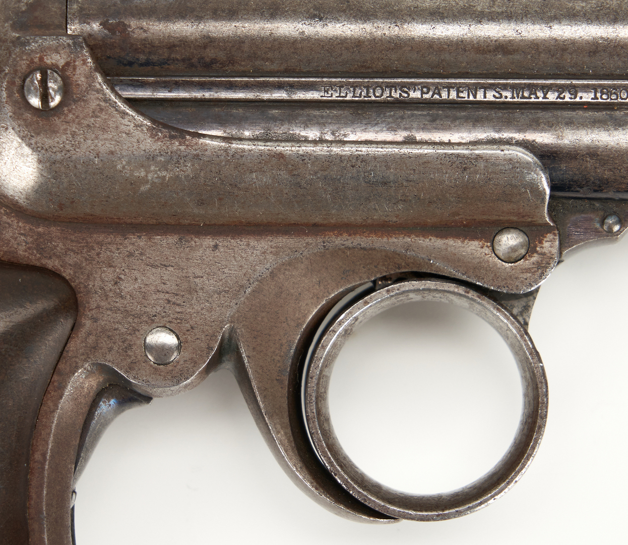 Lot 616: Remington Elliot Pepperbox Pistol, .32 rimfire cal