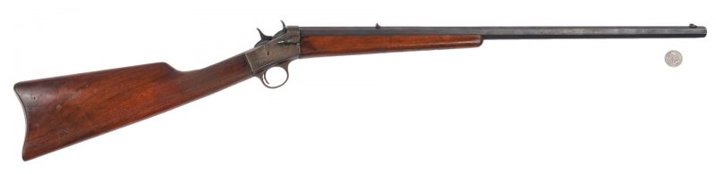 Lot 622: Remington New Model No. 4 Takedown Rolling Block Rifle, .22 cal.