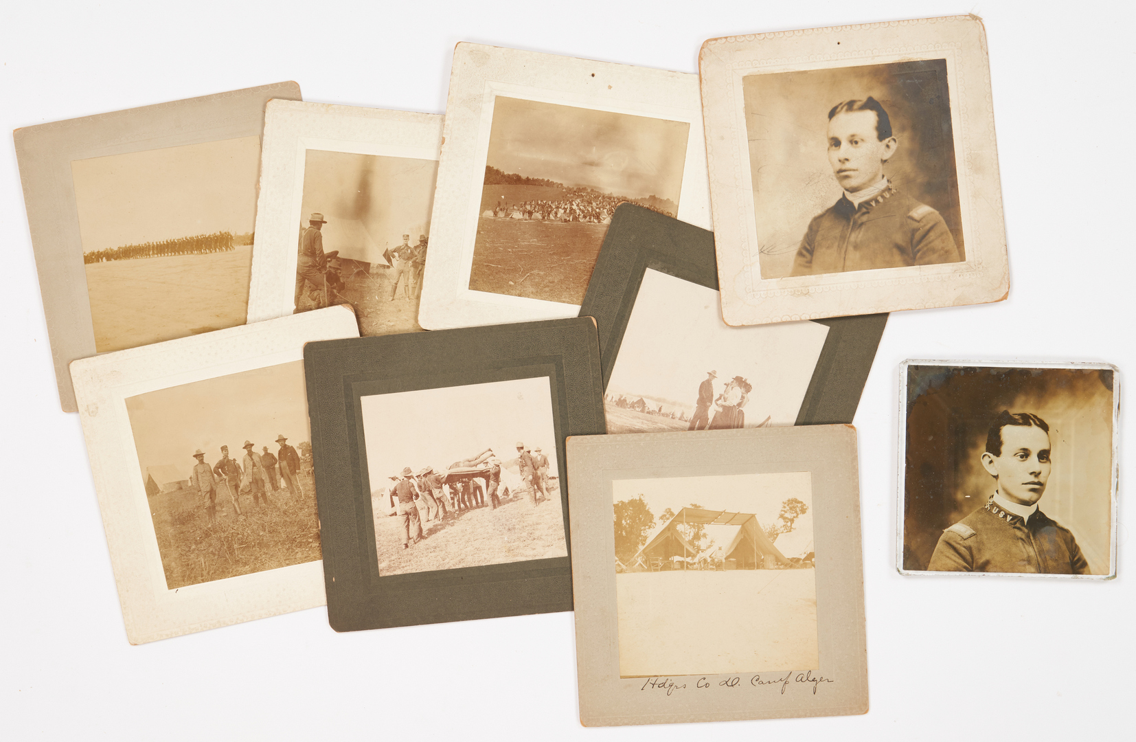 Lot 624: Spanish-American War Archive, 159th Reg. IN Vol. Inf.