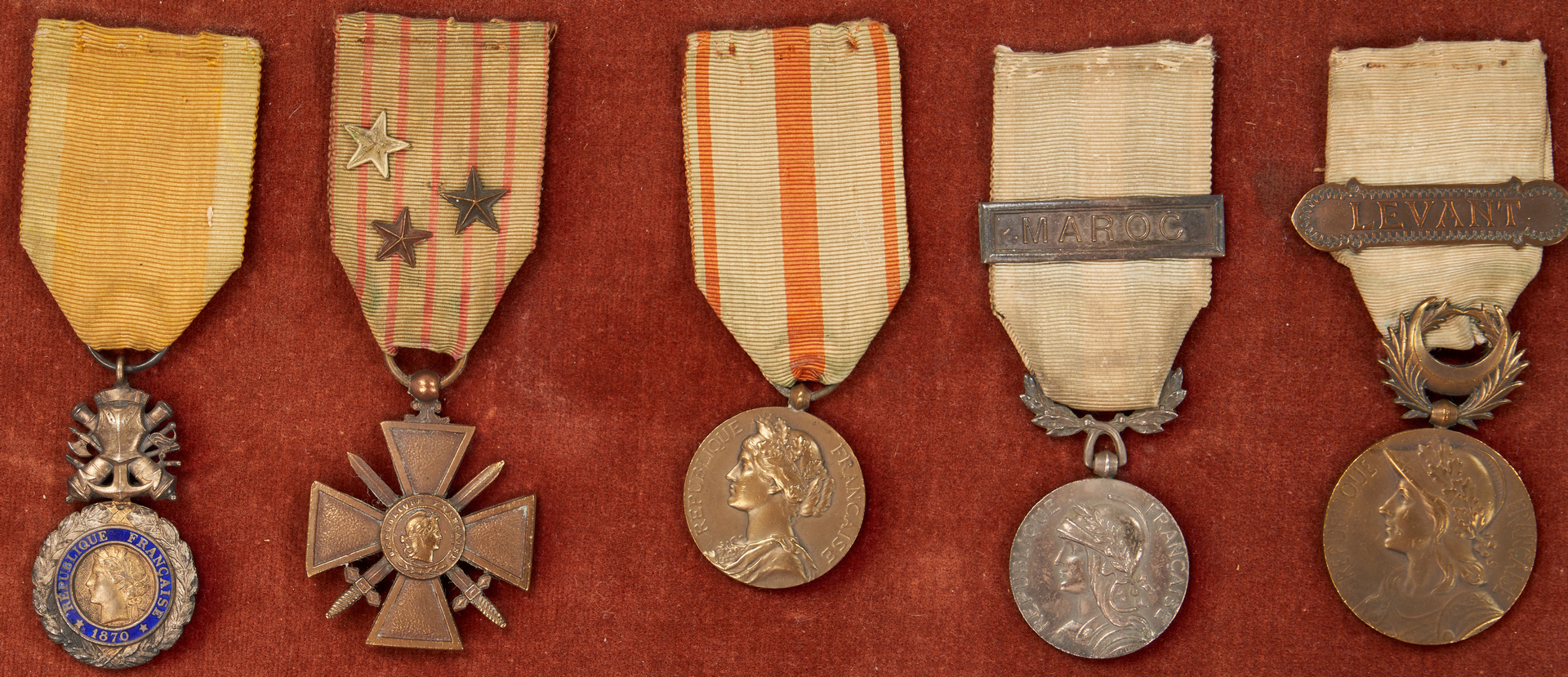 Lot 625: Military Archive, WWI/WWII French Soldier Paul Didier