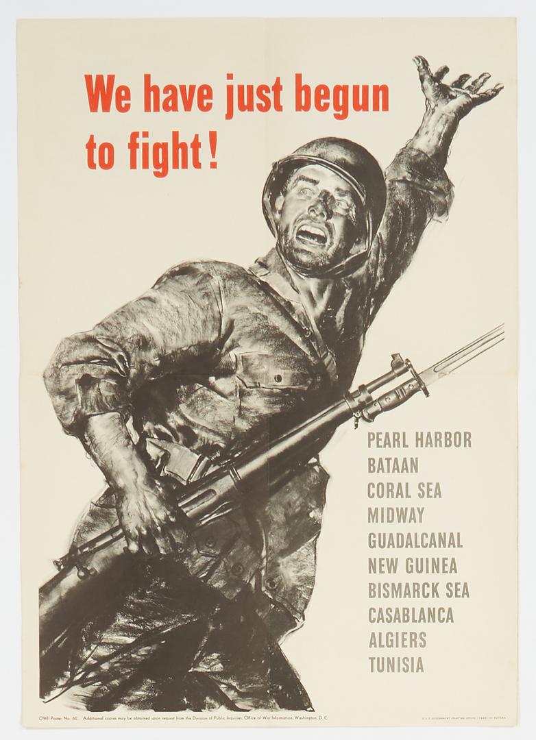 Lot 627: 15 WWII Propaganda posters