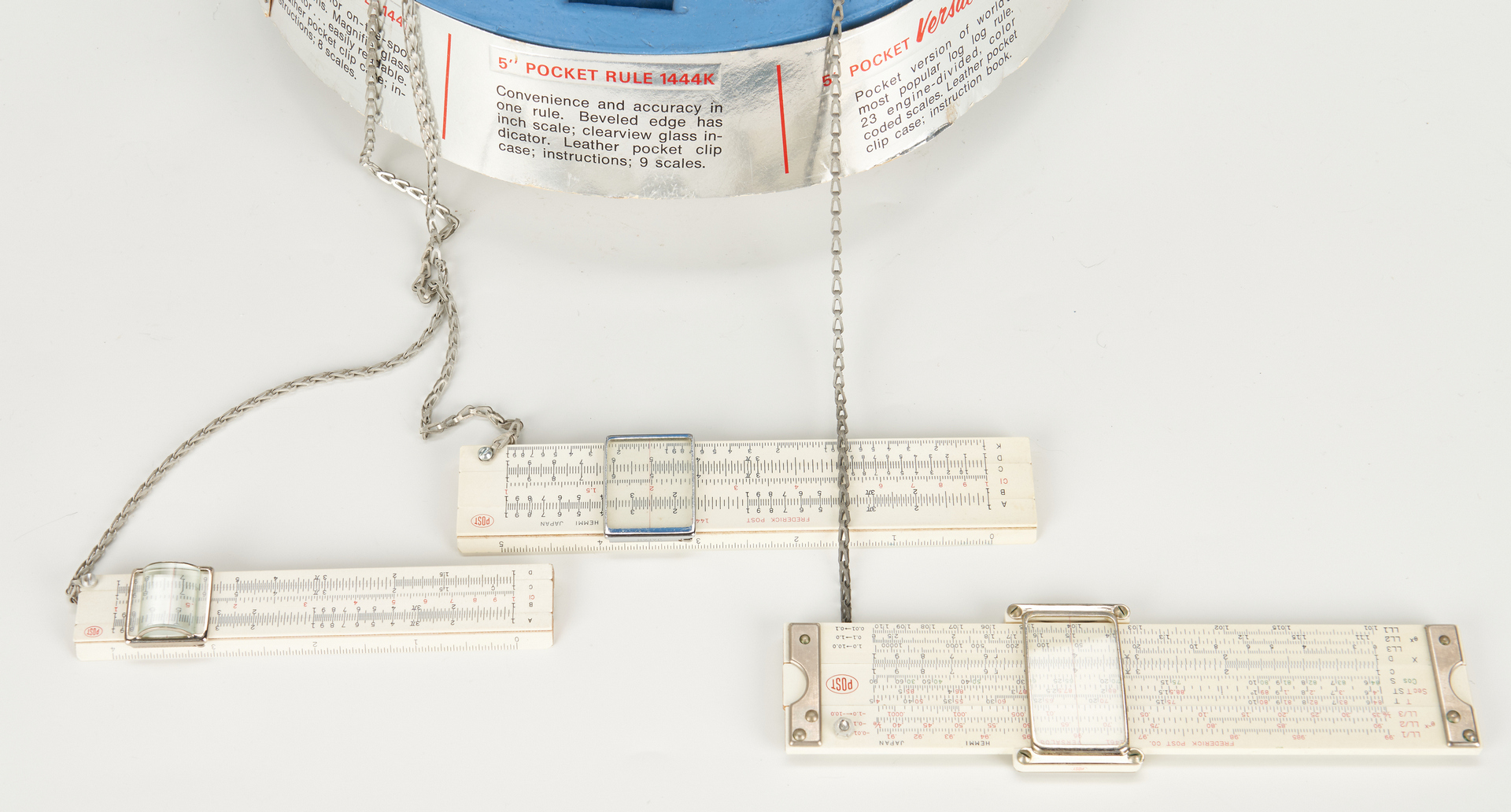 Lot 635: 2 Scientific Advertising Displays, Post and K & E