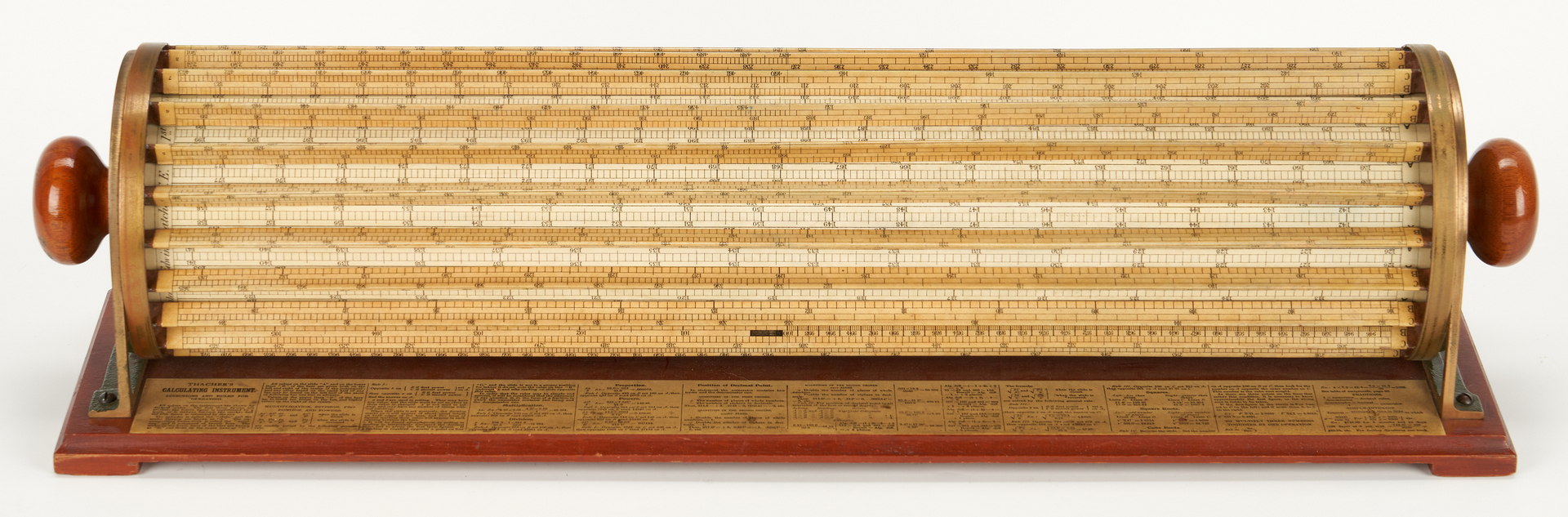Lot 636: K&E 4012 Thacher Cylindrical Slide Rule
