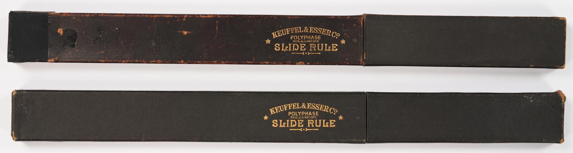 Lot 641: 2 Keuffel & Esser U.S. Military Slide Rules & 6 Others,  8 items