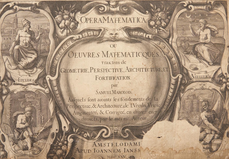 Lot 643: OPERA MATHEMATICA, Samuel Marolois, 1625