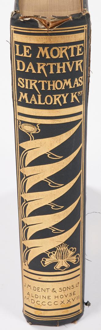 Lot 646: Le Morte D'Arthur, Beardsley Illustrations, 1927
