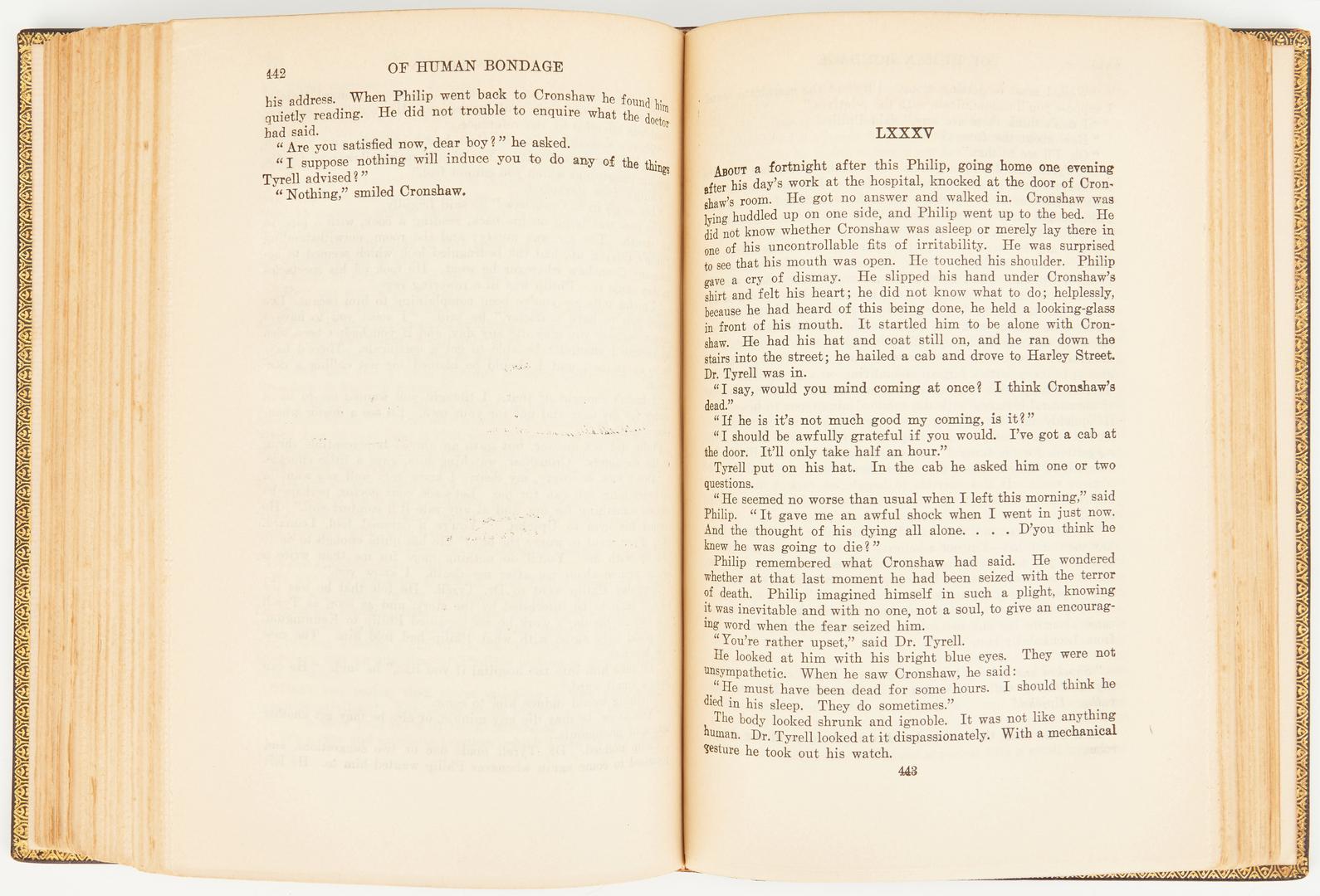 Lot 647: 2 Books: Somerset Maugham, Arthur Rackham