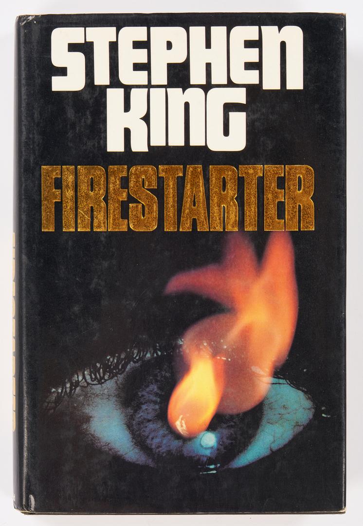 Lot 648: 4 Signed Novels, incl. Stephen King