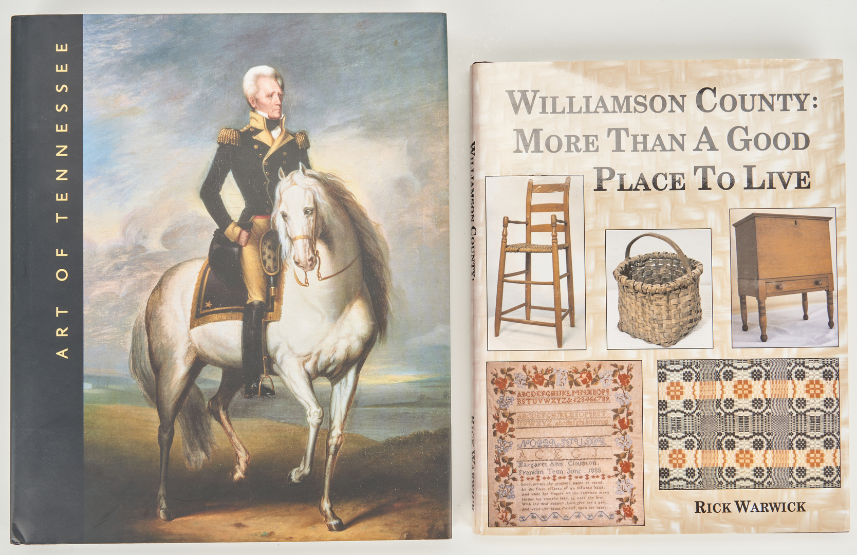 Lot 649: 12 TN, KY, OH Art and Antique Books