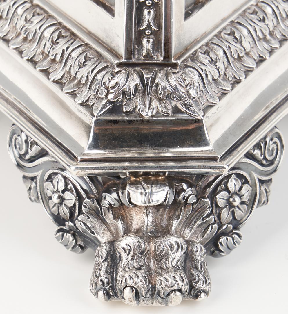 Lot 66: Matthew Boulton Sterling Silver Epergne