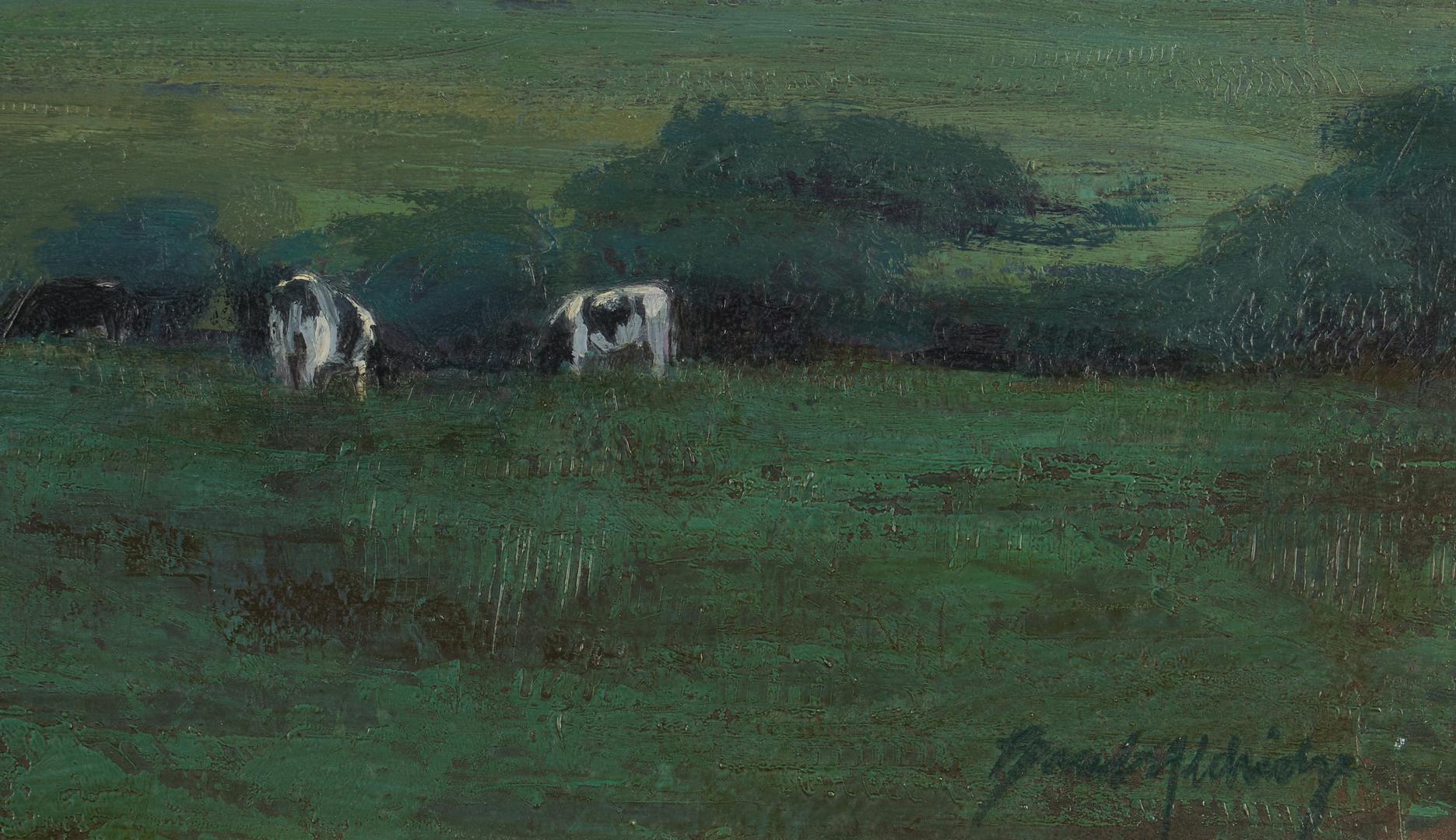 Lot 673: Brad Aldridge O/B, Autumn Pasture