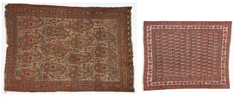 Lot 698: 2 Oriental Rugs, Qashqai and Afshar