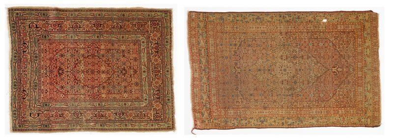 Lot 699: 2 Tabriz Carpets, approx. 6' x 4'