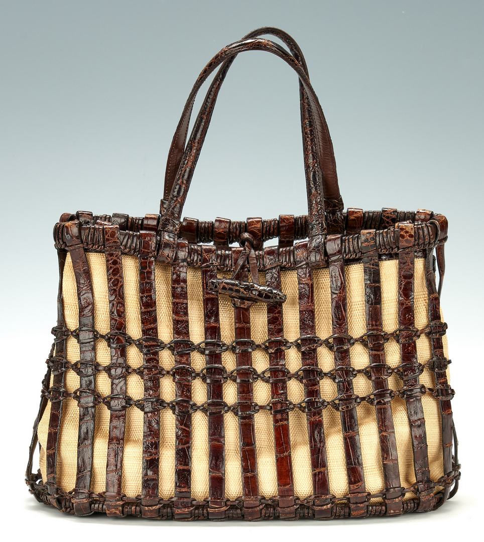Lot 702: 5 Nancy Gonzalez Handbags