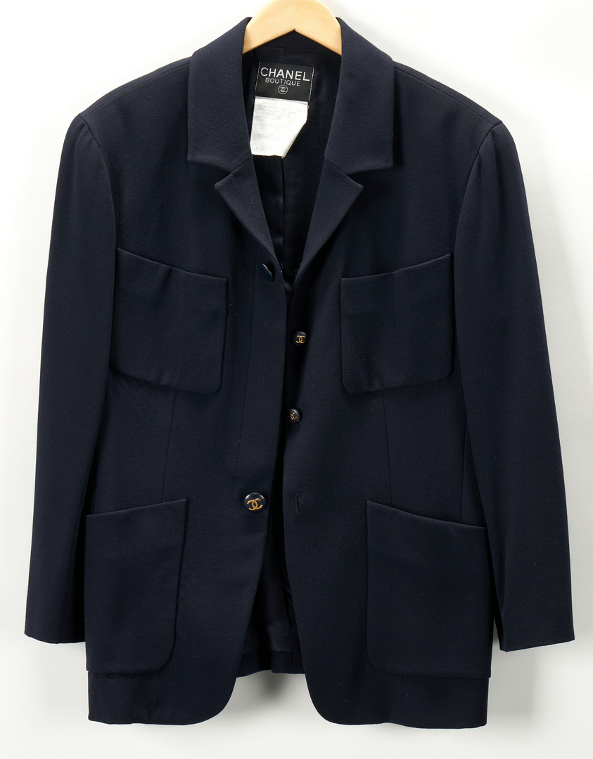 Lot 706: 5 Chanel Designer Clothing Items, incl. Outerwear