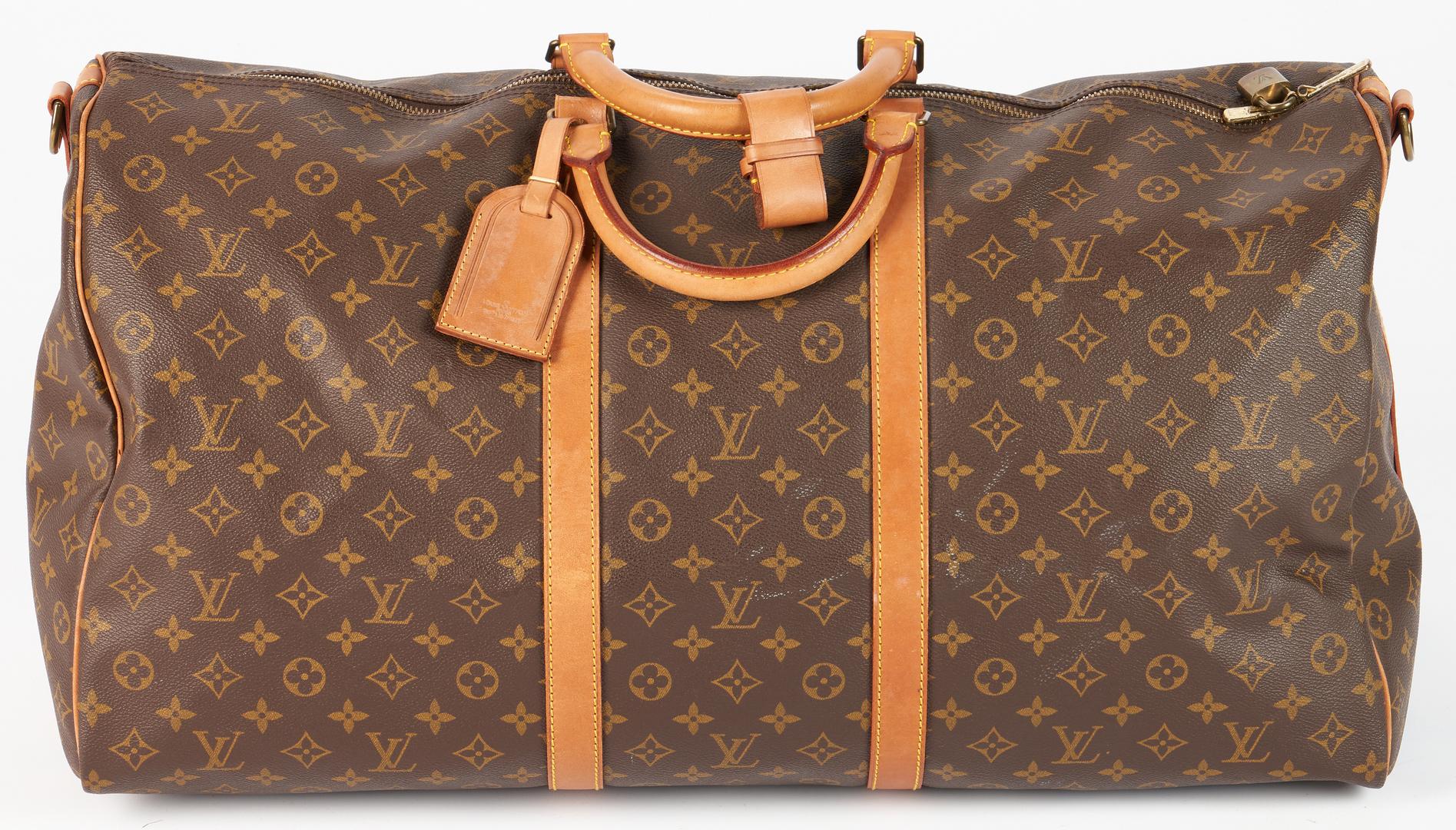 Lot 708: Louis Vuitton Keepall Duffle Bag