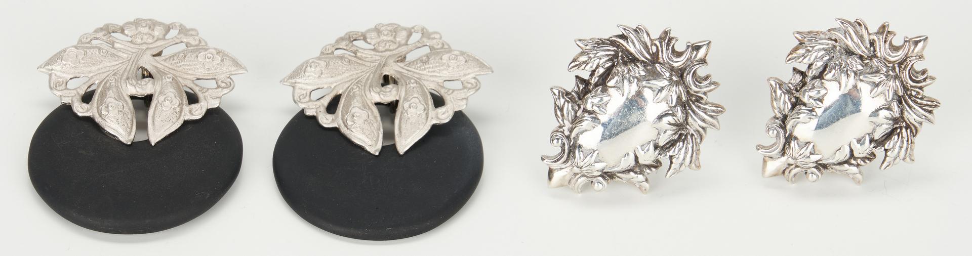 Lot 716: Sterling Jewelry & Belt incl. Stephen Dweck
