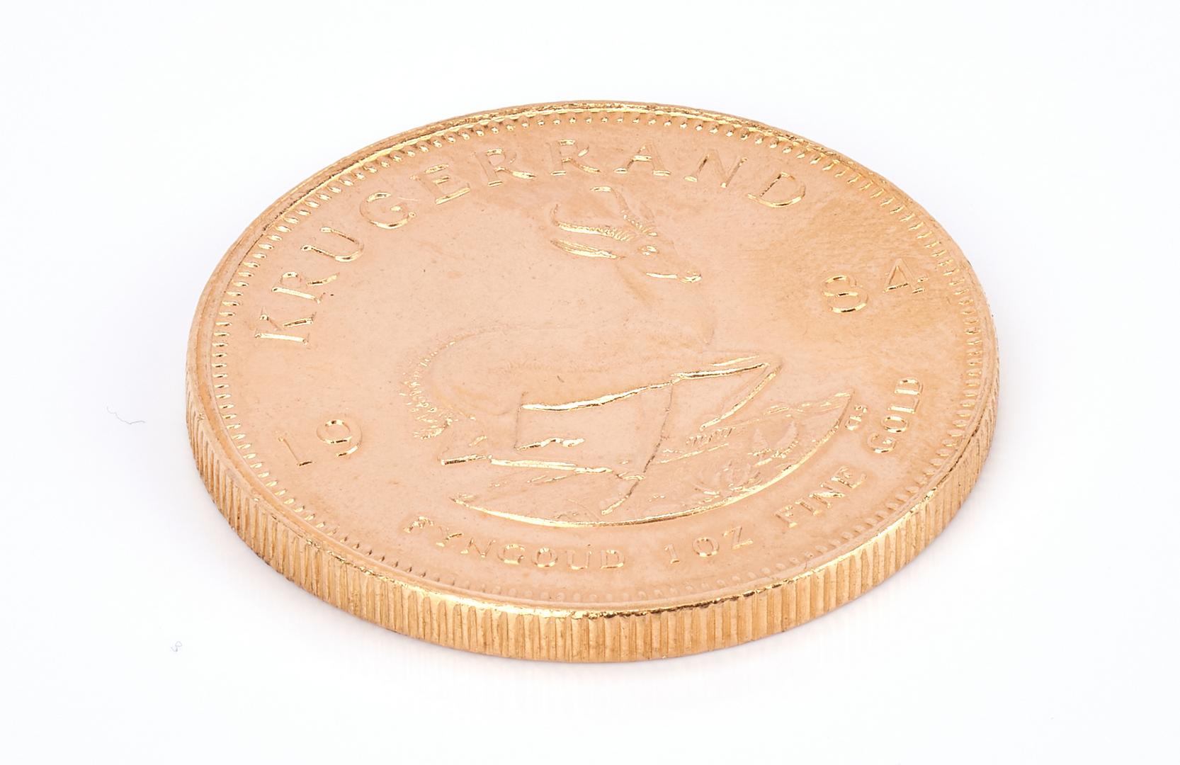 Lot 758: 1984 22K Gold South African Krugerrand