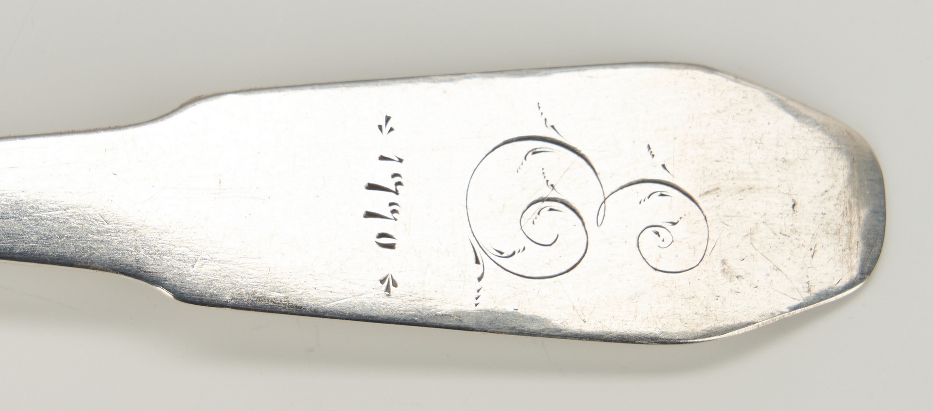 Lot 75: 2 Coin Silver Spoons inc. KY, Edward West and Thomas Phillips