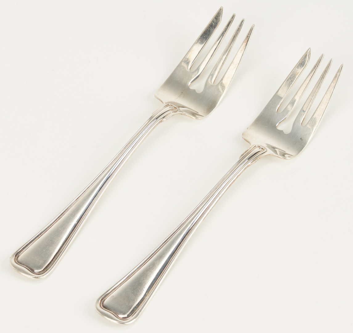 Lot 800: Gorham Sterling Silver Old French Flatware, 112 Pcs.