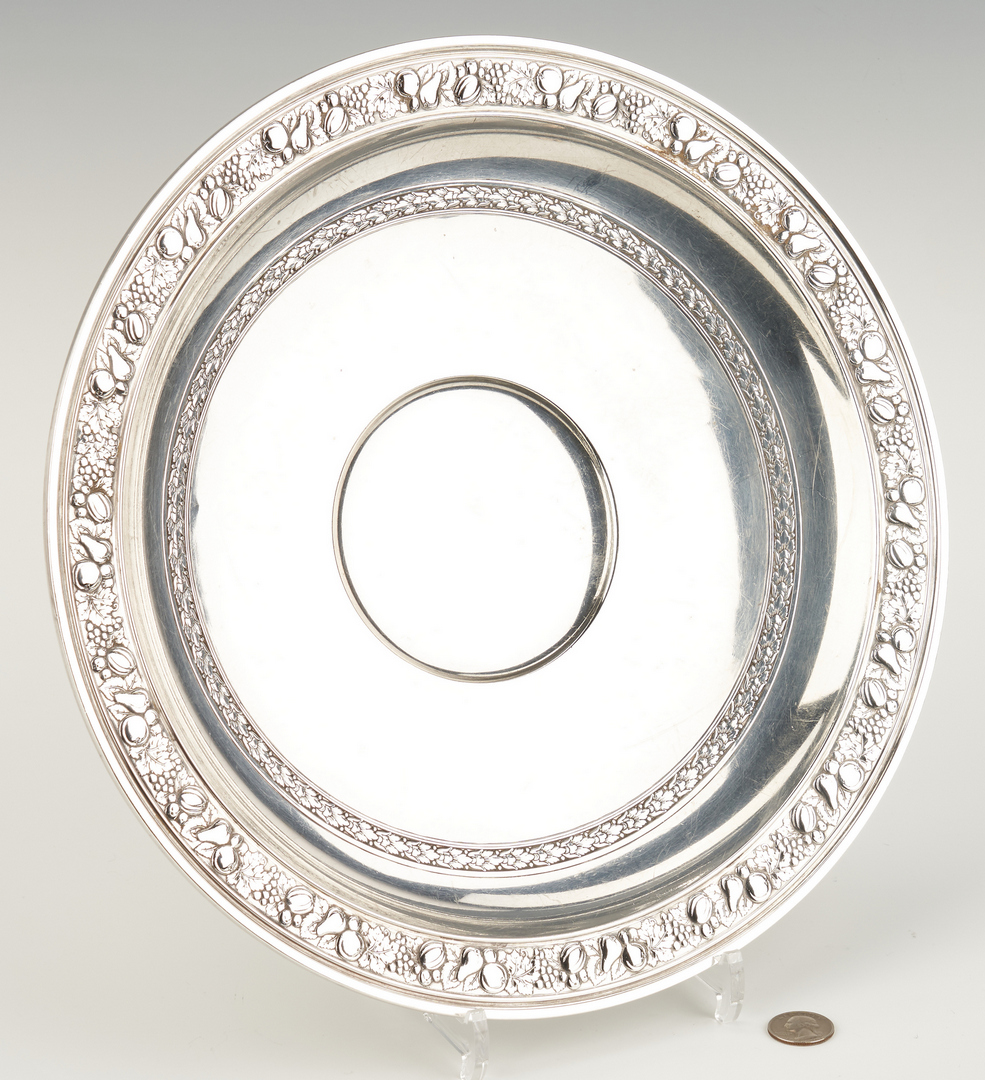 Lot 805: Gorham Sterling Footed Centerpiece Bowl