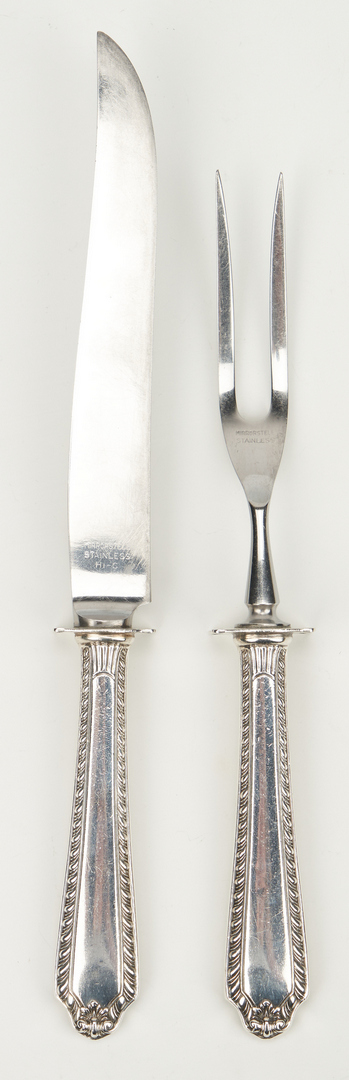 Lot 806: 35 pieces flatware incl. Reed & Barton Hawthorne