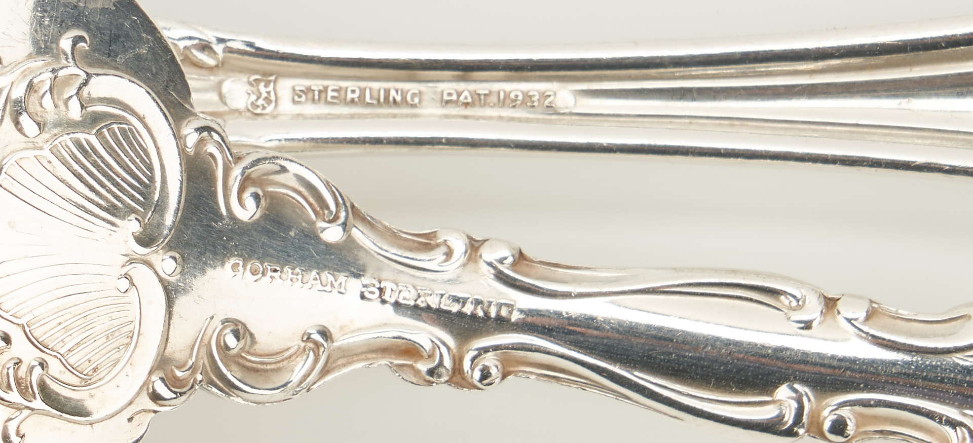Lot 811: 38 pcs. Sterling Flatware inc. Towle French Provincial