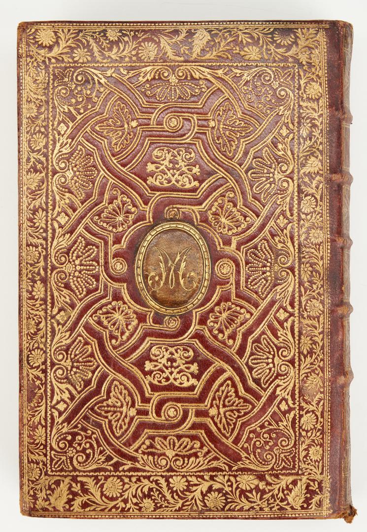 Lot 826: 2 Religious Books, incl. Latin Illuminated