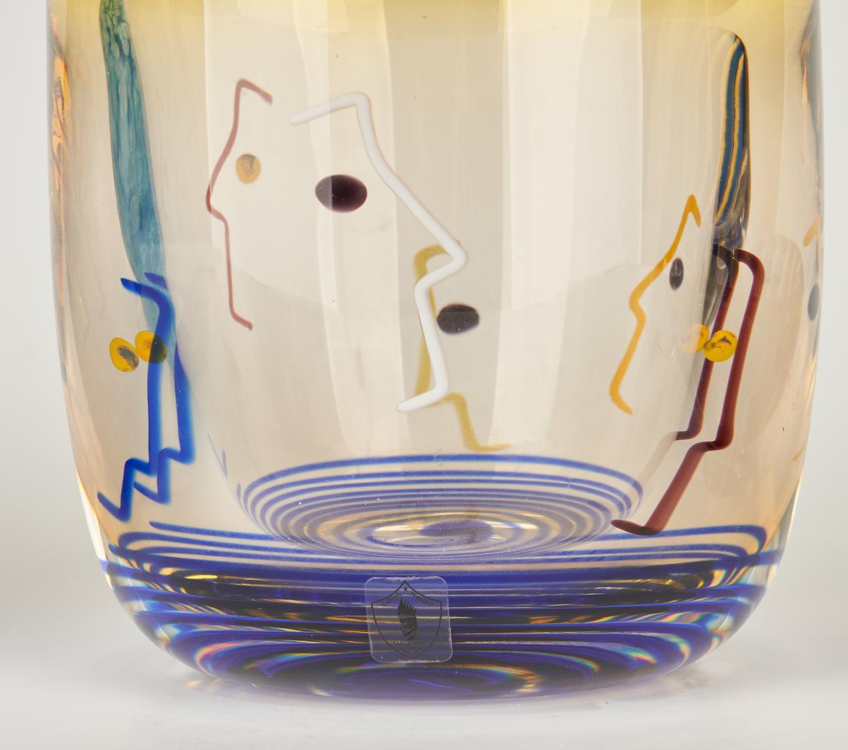 Lot 834: 3 Swedish Art Glass items incl. Orrefors, Kosta Boda