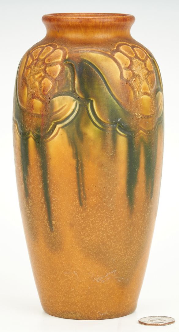 Lot 835: Charles Todd signed Rookwood Art Pottery Vase