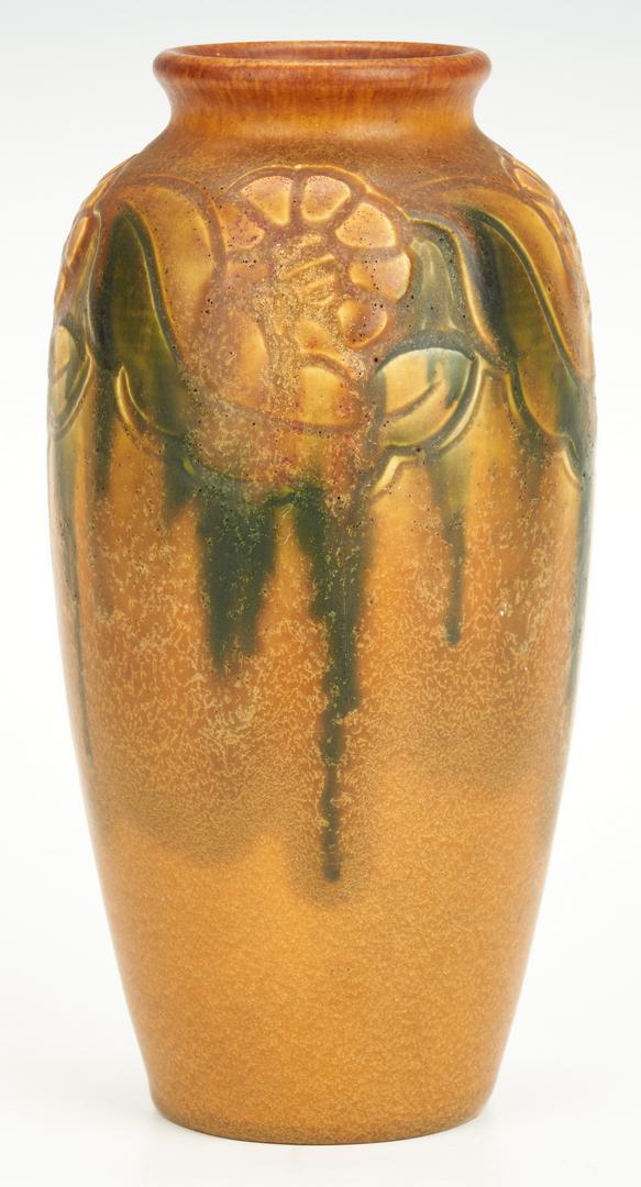 Lot 835: Charles Todd signed Rookwood Art Pottery Vase